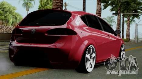 Seat Leon Cupra Static für GTA San Andreas linke Ansicht