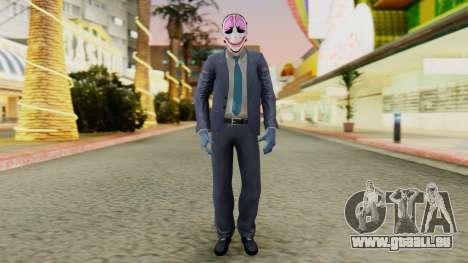 [PayDay2] Hoxton pour GTA San Andreas deuxième écran