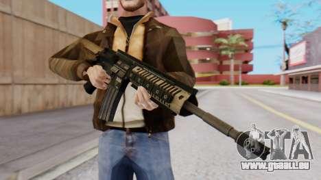 M4A1 Magpul pour GTA San Andreas deuxième écran