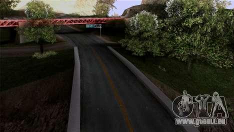 Roads Full Version LS-LV-SF pour GTA San Andreas deuxième écran