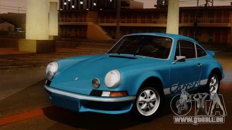 Porsche 911 Carrera RS 2.7 Sport (911) 1972 HQLM für GTA San Andreas Innenansicht