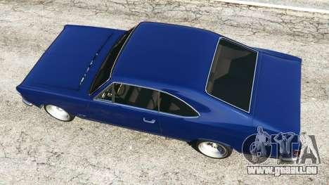 GTA 5 Chevrolet Opala Gran Luxo vue arrière