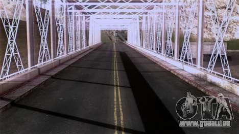 Roads Full Version LS-LV-SF für GTA San Andreas siebten Screenshot