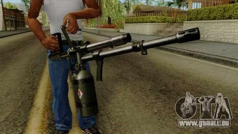 Original HD Flame Thrower für GTA San Andreas dritten Screenshot