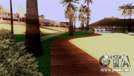 La plage de Los Santos pour GTA San Andreas cinquième écran