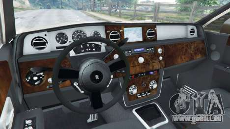 GTA 5 Rolls-Royce Phantom EWB v0.6 [Beta] droite vue latérale