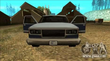 New Yosemite v2 pour GTA San Andreas roue