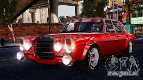 Mercedes-Benz 300 SEL 6.8 AMG W109 pour GTA 4 Vue arrière