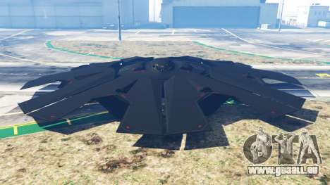 Stealth UFO [Beta] pour GTA 5