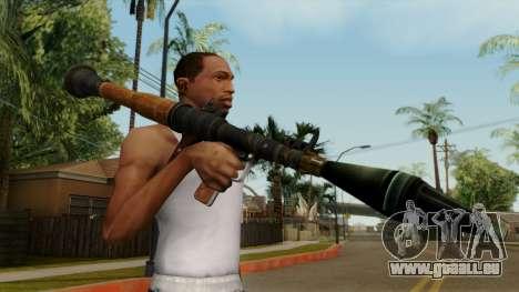Original HD Rocket Launcher für GTA San Andreas dritten Screenshot