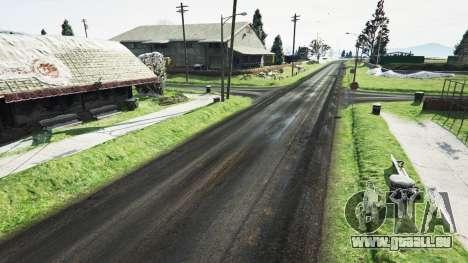GTA 5 North Yankton sans neige v1.1 troisième capture d'écran