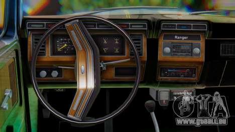 Ford F-150 1984 Final pour GTA San Andreas vue intérieure