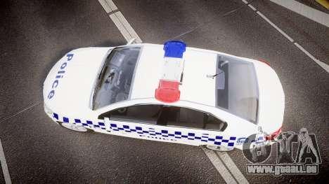 Holden VF Commodore SS NSW Police [ELS] pour GTA 4 est un droit