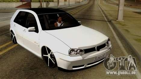 Volkswagen Golf 2004 Edit für GTA San Andreas Innenansicht