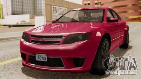 GTA 5 Cheval Fugitive für GTA San Andreas