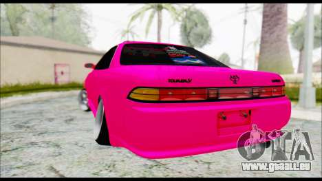 Toyota Mark 2 90 Stock3 für GTA San Andreas linke Ansicht