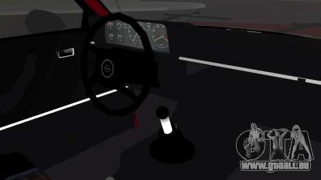 Opel Manta B1 pour GTA San Andreas vue de droite