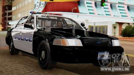 Police LS 2013 für GTA San Andreas