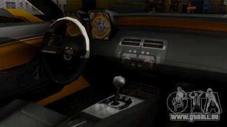 Chevrolet Camaro GT für GTA San Andreas rechten Ansicht