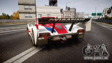 Radical SR8 RX 2011 [27] für GTA 4 hinten links Ansicht