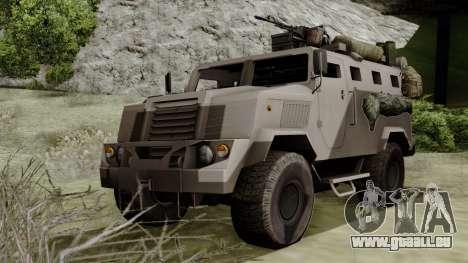 SPM-3 from Battlefiled 4 für GTA San Andreas