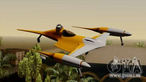Star Wars N-1 Naboo Starfighter pour GTA San Andreas
