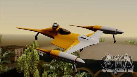Star Wars N-1 Naboo Starfighter für GTA San Andreas