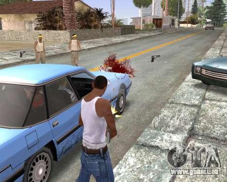 Blood Effects für GTA San Andreas her Screenshot
