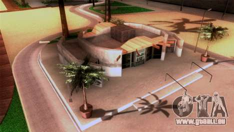 La plage de Los Santos pour GTA San Andreas quatrième écran