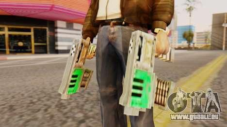 Warhammer Tec9 pour GTA San Andreas troisième écran
