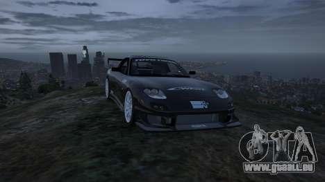 GTA 5 Mazda RX7 C-West 0.2 vue arrière