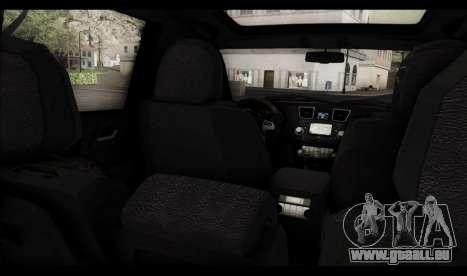 Toyota Highlander 2011 für GTA San Andreas Motor