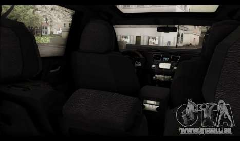 Toyota Highlander 2011 pour GTA San Andreas moteur