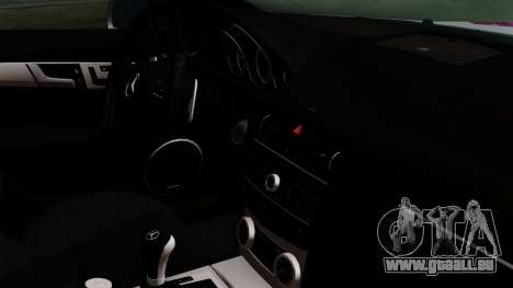 Mercedes-Benz C63 AMG Momoka and Nonoka Itasha pour GTA San Andreas vue de droite