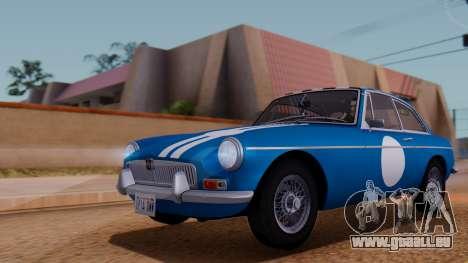 MGB GT (ADO23) 1965 FIV АПП pour GTA San Andreas salon