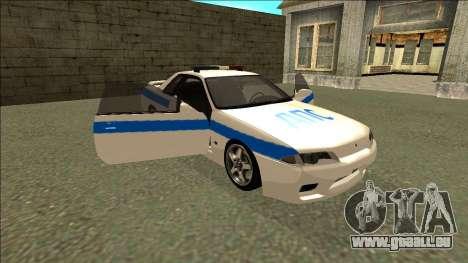 Nissan Skyline R32 Russian Police pour GTA San Andreas