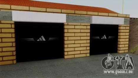 De nouvelles textures de l'ancien garage de Dohe pour GTA San Andreas troisième écran