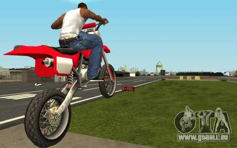 New Sky pour GTA San Andreas deuxième écran