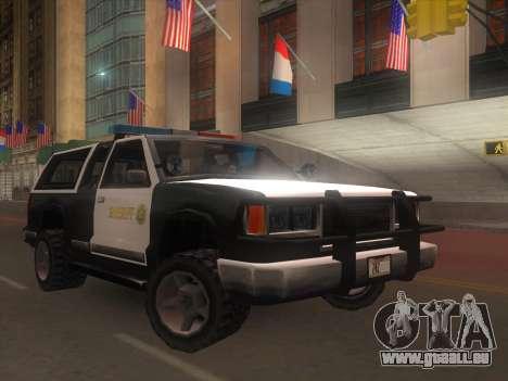 Yosemite Police 2015 pour GTA San Andreas