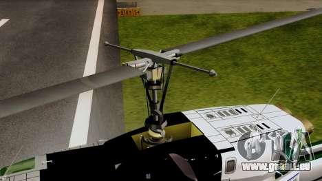 Bell UH-1N NAJA für GTA San Andreas Rückansicht