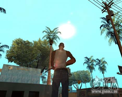 HQ Effects and Sun Final Version pour GTA San Andreas deuxième écran