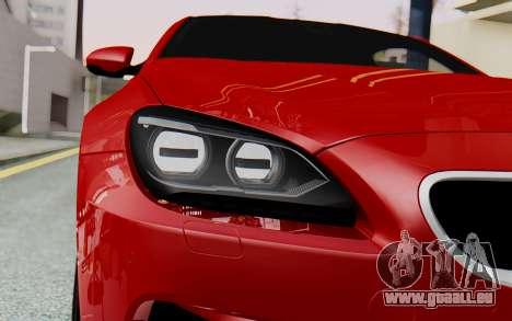 BMW M6 2013 v1.0 pour GTA San Andreas vue de côté