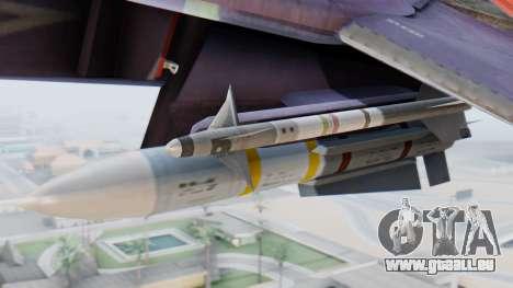 F-14D Zipang pour GTA San Andreas vue de droite