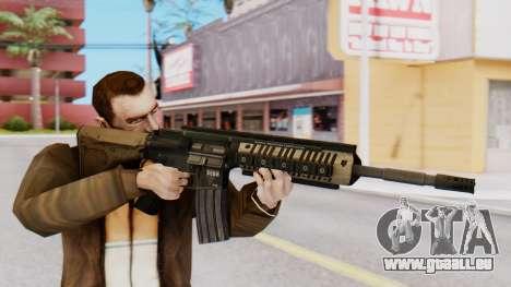 M4A1 Magpul pour GTA San Andreas troisième écran