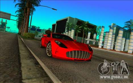 Aston Martin One-77 pour GTA Vice City