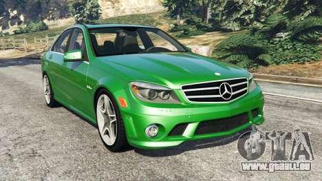 Mercedes-Benz C63 (W204) AMG pour GTA 5