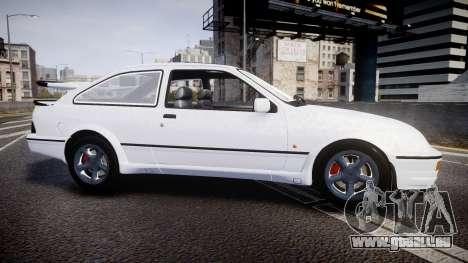 Ford Sierra RS500 Cosworth für GTA 4 linke Ansicht