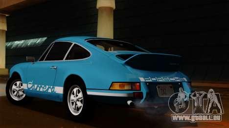 Porsche 911 Carrera RS 2.7 Sport (911) 1972 HQLM für GTA San Andreas Rückansicht