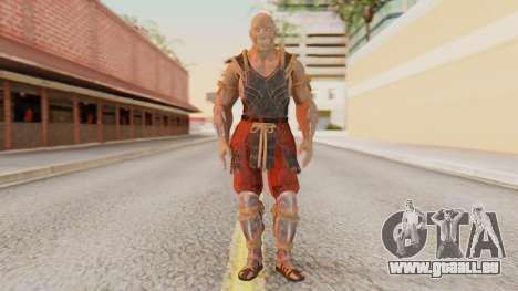 [MKX] Baraka pour GTA San Andreas deuxième écran