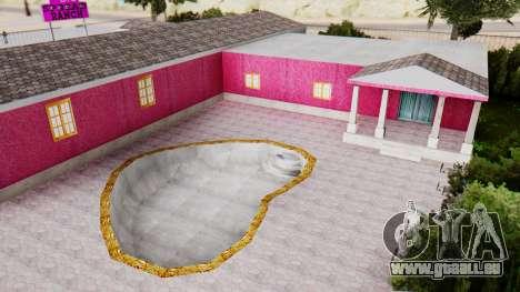 De nouvelles textures du club à Las Venturas pour GTA San Andreas cinquième écran